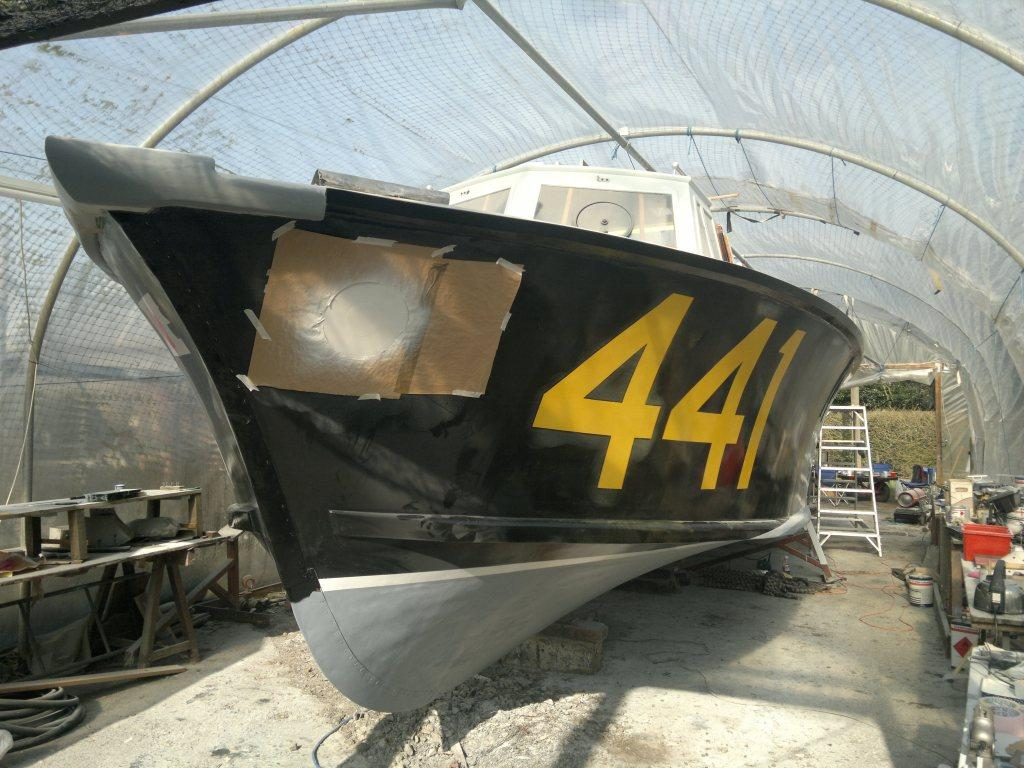RAF 441 as nearly completed by the owners